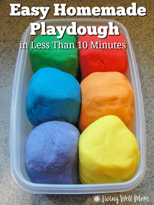 http://livingwellmom.com/2012/02/easy-homemade-playdough-recipe/