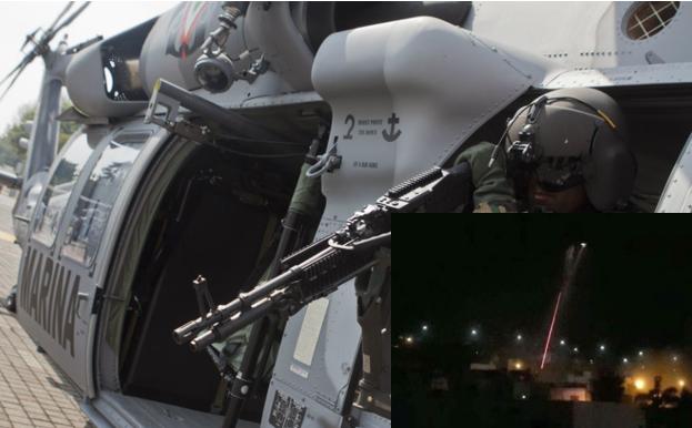 Así es el  Black Hawk el Helicoptero que uso la armada para abatir a El H-3 y sus sicarios
