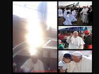 Cahaya Misterius Muncul Di Atas Paus Fransiskus
