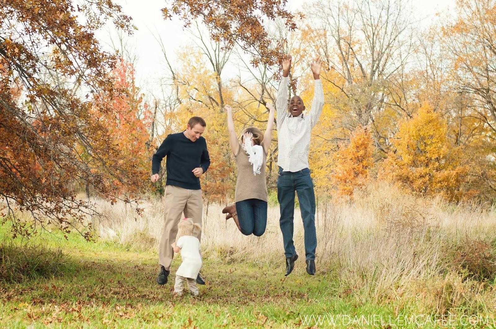 Chris, Kat, James, and Lilah | Fall Family Photography