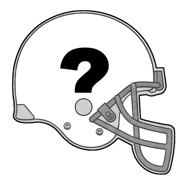 Blank Football Helmet Clipart