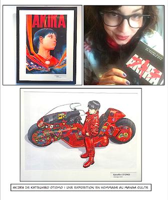 DVD d'Akira et exposition chez Glénat