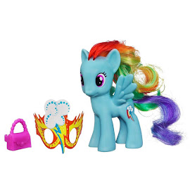 MLP Masquerade Single Wave 1 Rainbow Dash Brushable Pony