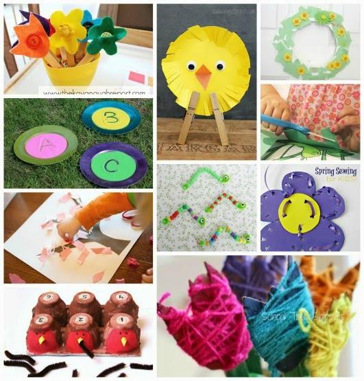 play based spring preschool activities