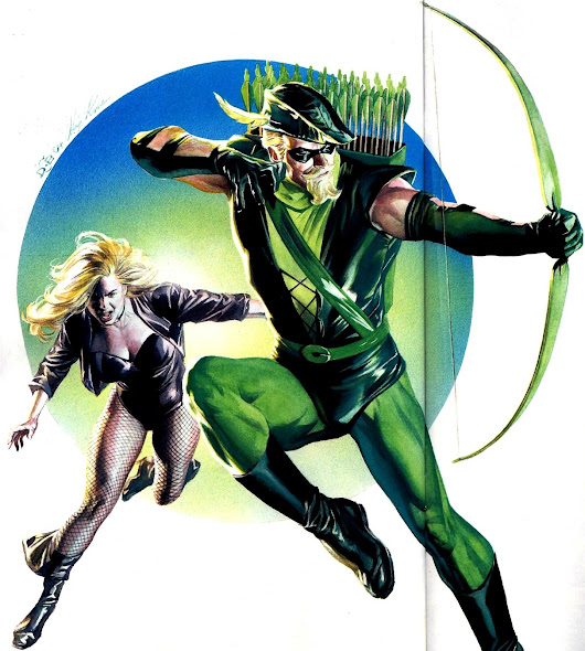 Green Arrow through the years.