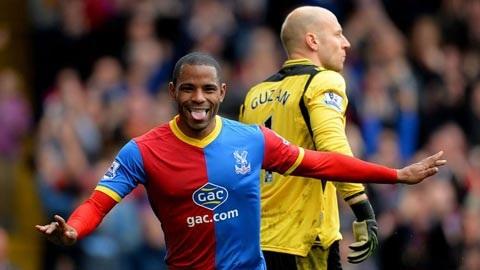 Puncheon thi đấu khá thành công ở Crystal Palace