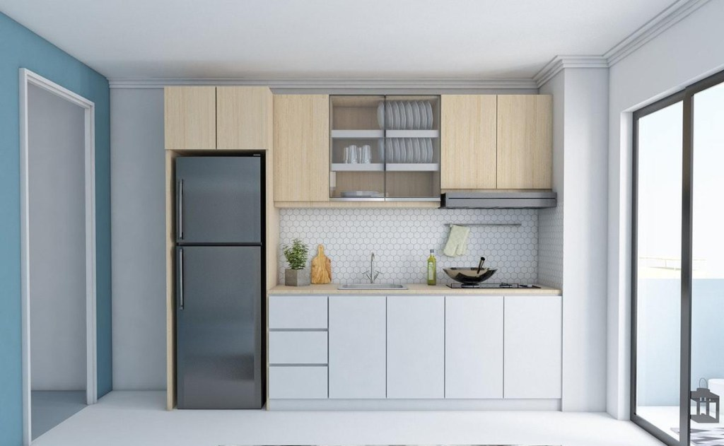 Skandivanian Minimalist Kitchen Model