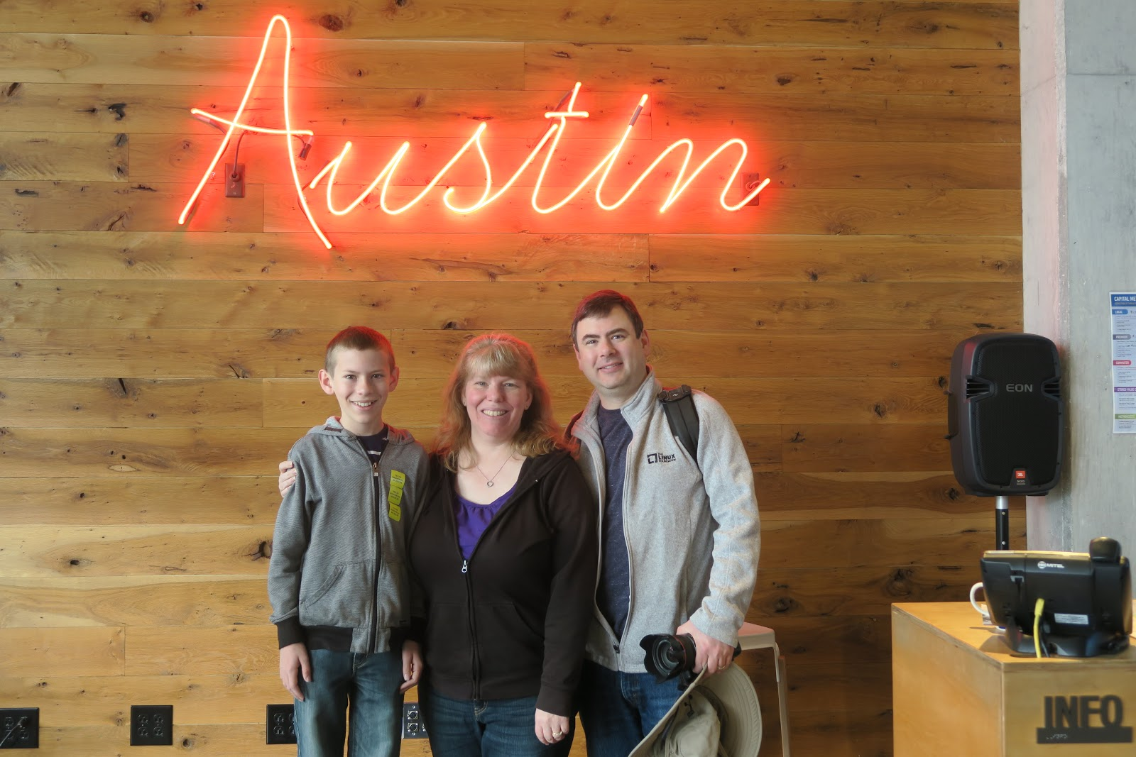 We Joined Two Other Families 11 People Total For The Real Austin Tour By Detours