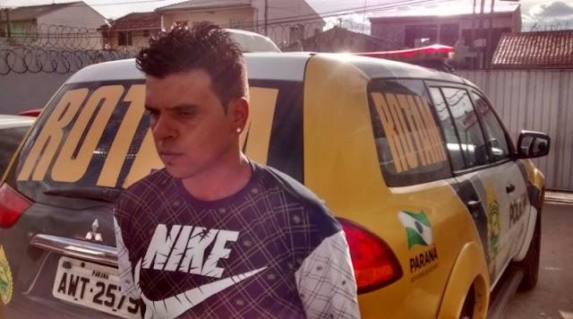 Homem é  preso pela Rotam com moto roubada em Colombo
