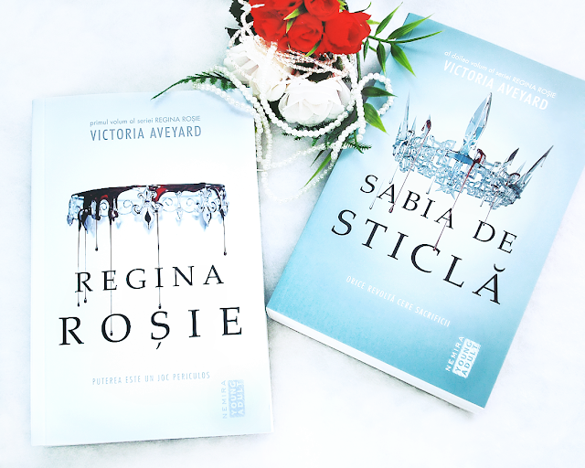 Victoria Aveyard - Red Queen - Glass Sword - Regina Rosie - Sabia de sticla - review - recenzie