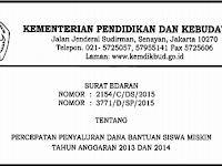 Download Surat Edaran Percepatan BSM