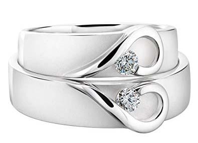 Cincin Emas Putih Love