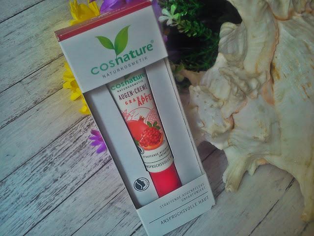 O kosmetykach i nie tylko ...: Naturalny uj?drniaj?cy krem pod oczy z owocem granatu COSNATURE