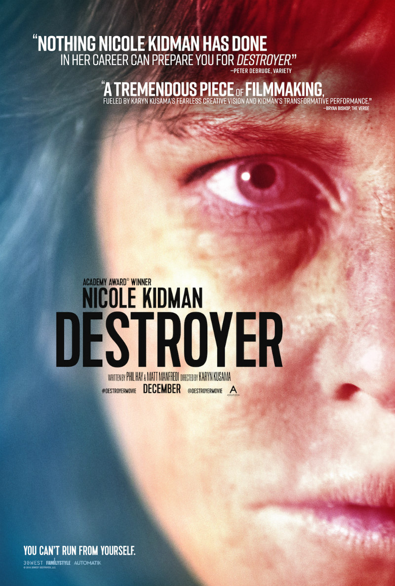 nicole kidman destroyer poster