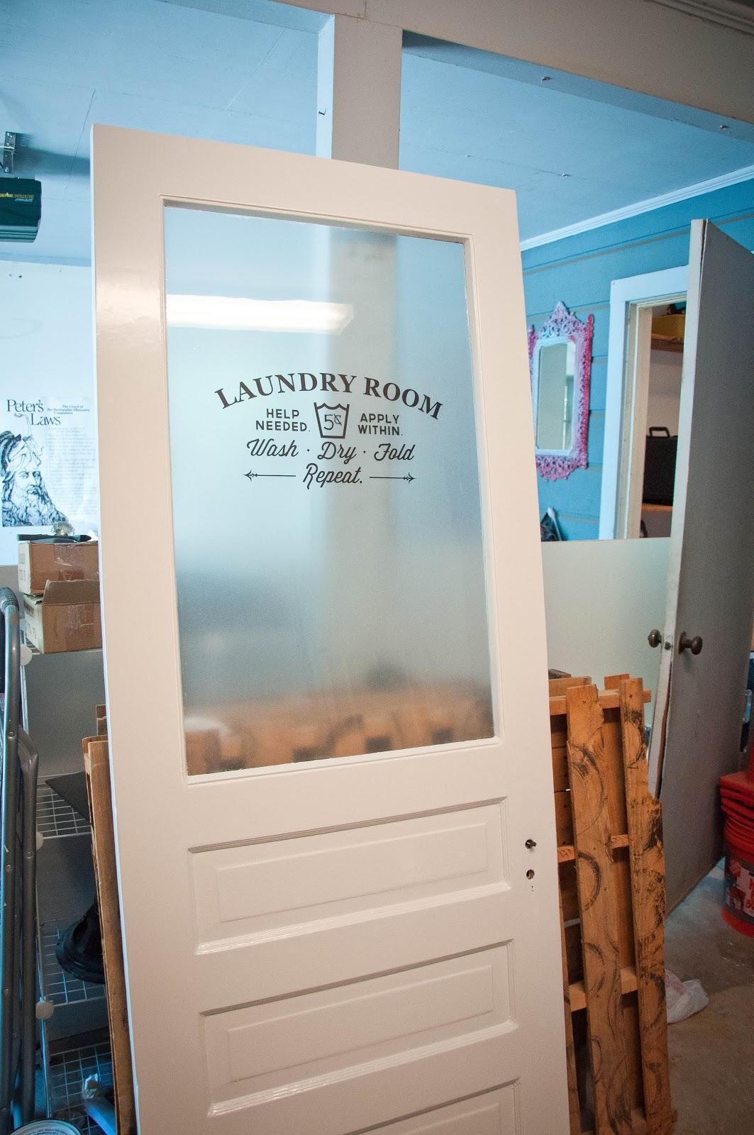 Laundry Room Door Part 2
