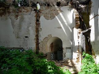Клевань. Замок Чарторыйских. XV в. Помещения в западном крыле замка