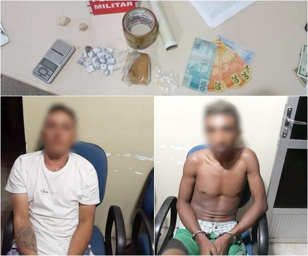 Policiais Militares do 6º B.P.M apreendem drogas, no alto sertão paraibano