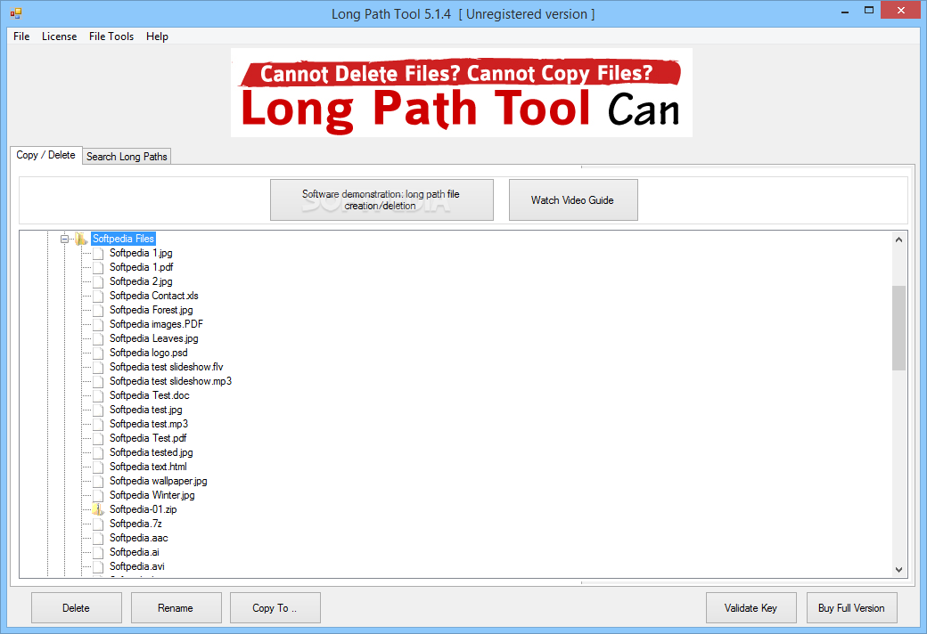Download Long Path Tool 5.1.6 free