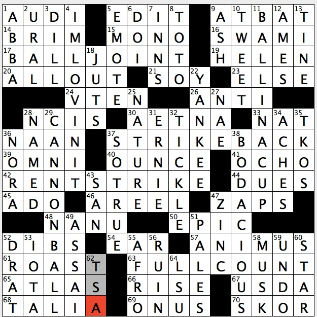Rex parker does the nyt crossword puzzle july 2016 theme full count 63a 3 2 or whats represented by the answers to this puzzles starred clues description ccuart Images