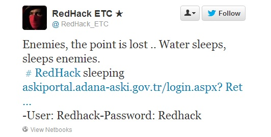 Redhack hits Istanbul Metropolitan Municipality & Sewerage Administration systems