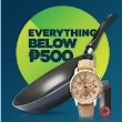 Everything Under P 500 at Online Revolution Grand Christmas Sale