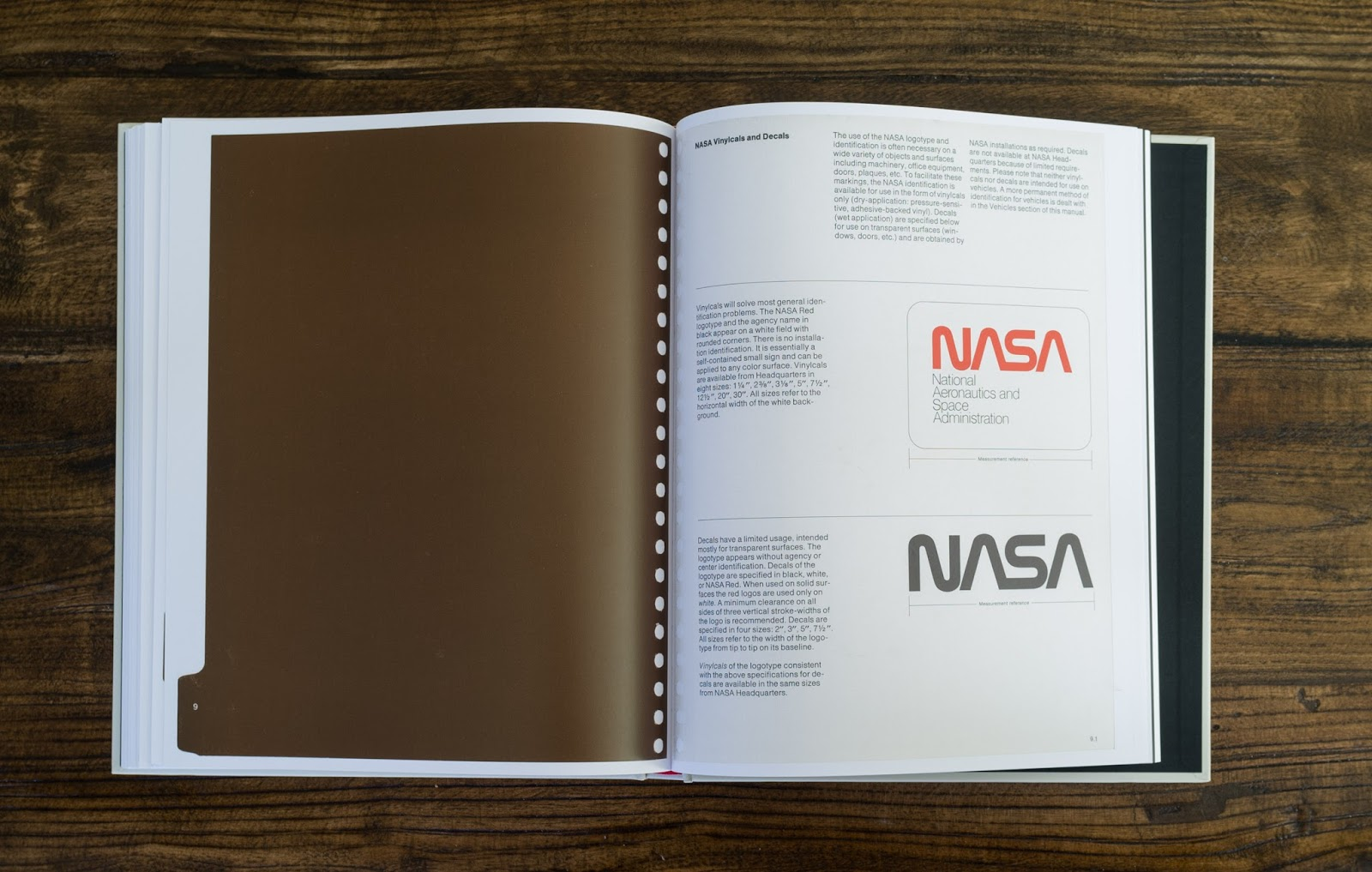 How To Democracy: Book Review: NASA Graphics Standards Manual