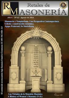 Retales de Masonería 62- Agosto 2016