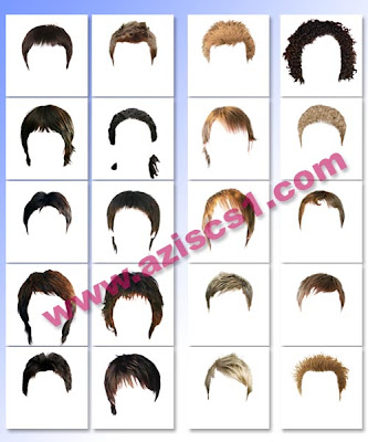 Download Template Model Wig