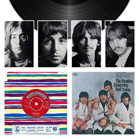 Les trois vinyles les plus chers des Beatles