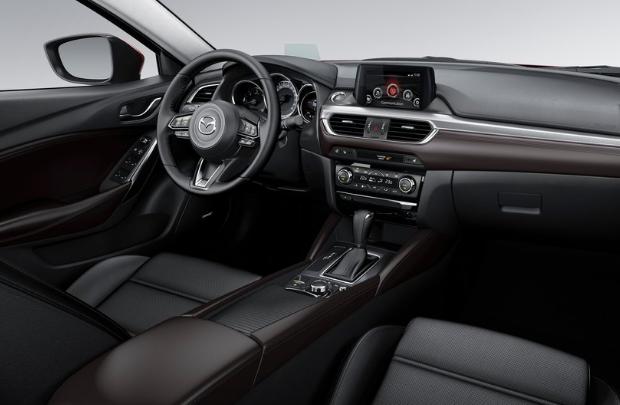 2017 Mazda 6 Sedan Interior