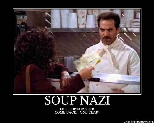 Nazi Soup Kitchen