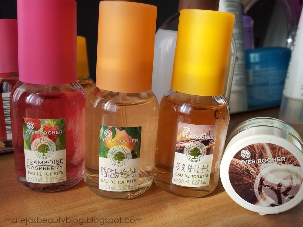 Yves Rocher Mini Fragrances - Mateja's Beauty Blog