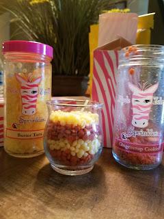 Pink Zebra Custom Candle Sprinkles
