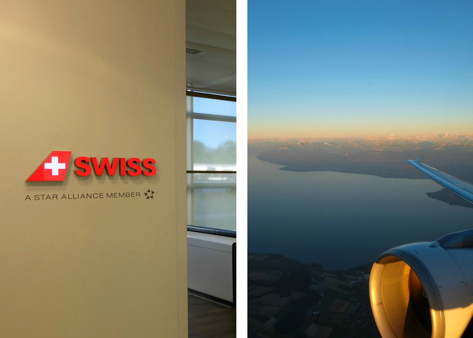 Flying Business Class with Swiss Air