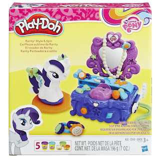 MLP Play-Doh Rarity Style and Spin Set