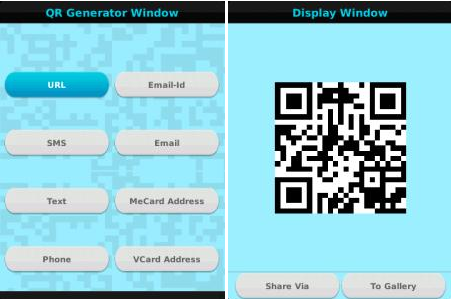 QR Code Scanner And Generator FREE v1 0 For BlackBerry
