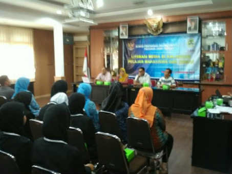 Diundang 38 Siswa SMK Baitussalam Sambangi Kantor KPID Propinsi Jawa Tengah
