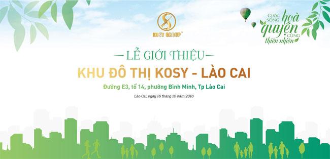 Giới thiệu dự án Kosy Lào Cai - Khu đô thị mới Lào Cai