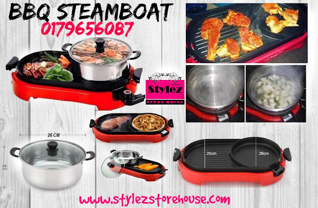 set bbq steamboat murah