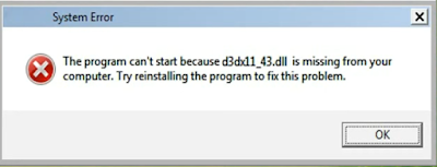 Telecharger D3dx11_43.dll Fichier Gratuit Installer