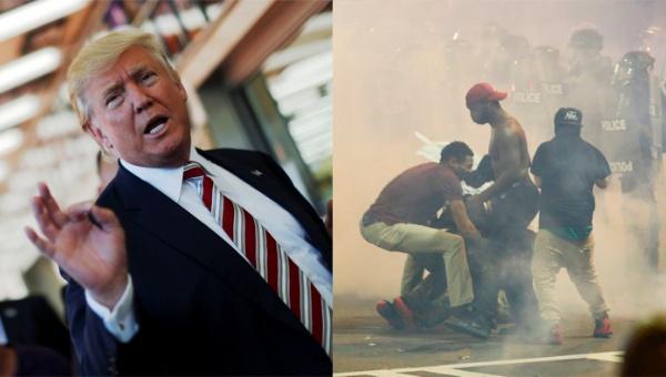 Trump asegura que drogas provocan protestas violentas en EE.UU.