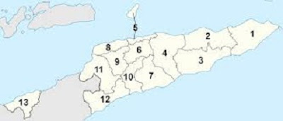 Pembagian Wilayah Administratif Timor Leste - berbagaireviews.com