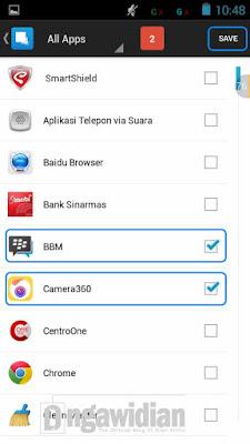 Menyembunyikan Aplikasi Android Dengan Hidden Apps