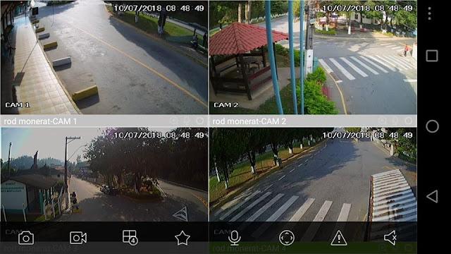 Prefeitura de Duas Barras instala câmeras de monitoramento no município