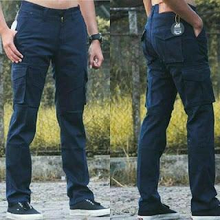 celana cargo, celana cargo navy, celana cargo pria, celana cargo murah