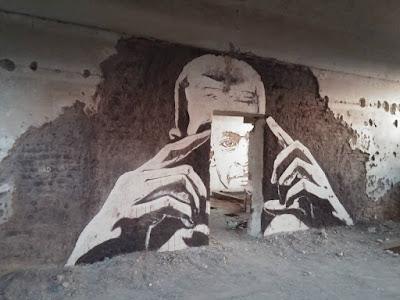 Mural en la pared