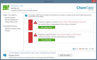 برنامج, Registry ,Life, لتنظيف, سجل, الويندوز, اخر, اصدار