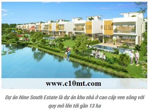 du an nine south estates gioi thieu khu biet thu xanh villas