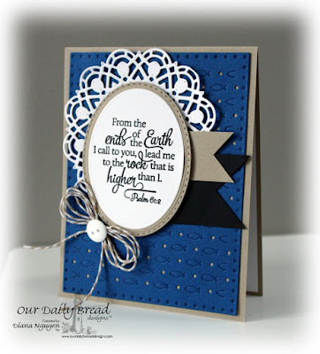 Diana Nguyen, Our Daily Bread Designs, Scripture, Doily, Faithful Fish