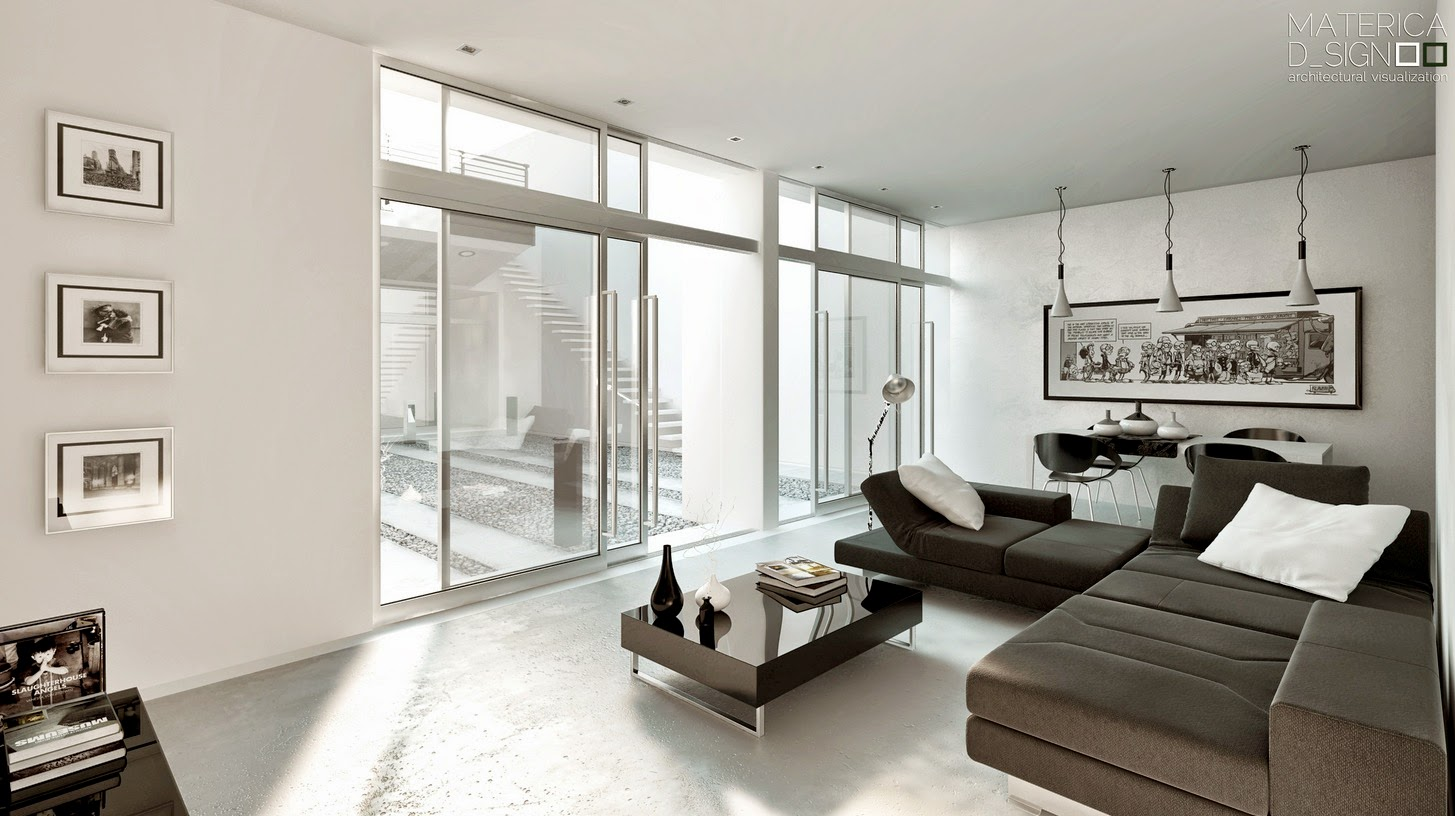 Stunning Of Black And White Livingroom Design Collection